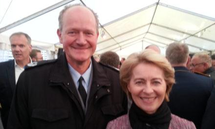 Empfang des Wehrbeauftragten des Deutschen Bundestages 2019