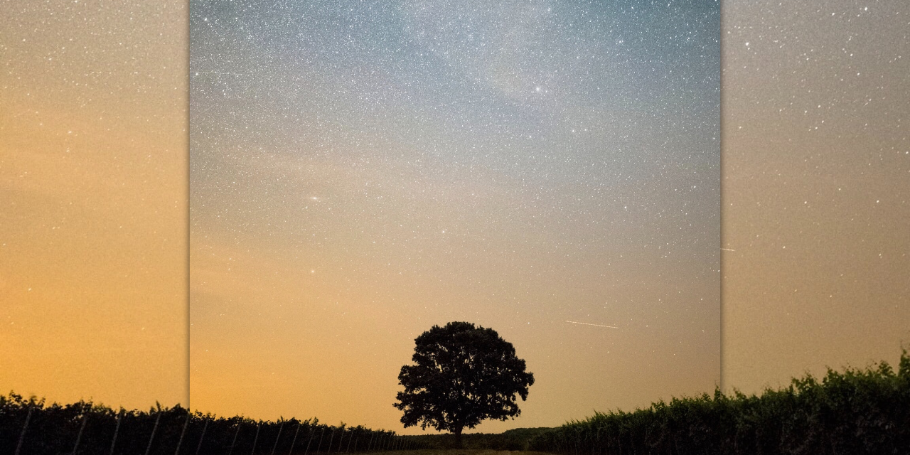 In der Dunkelheit der Trauer, leuchten die Sterne der Erinnerung.
