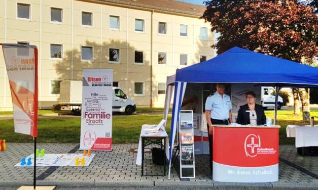 Sachausschuss Ehe-Familie-Partnerschaft beim Tag der offenen Tür in Gerolstein