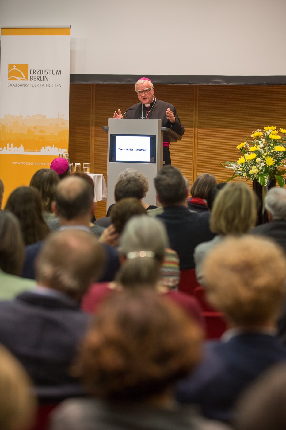 Empfang Drei Königs Preis Verleihung