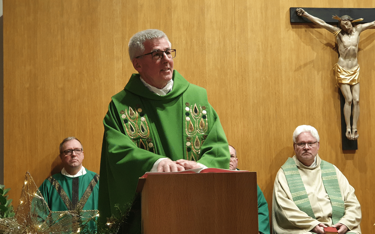 Predigt durch den Militärgeneralvikar