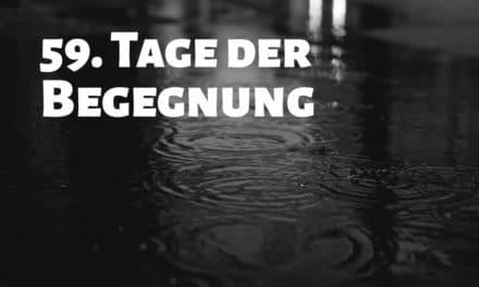 """59. """"Tage der Begegnung"""": Absage der Veranstaltung"""