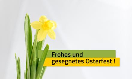 Frohes und gesegnetes Osterfest!