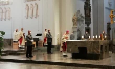 54. Gottesdienst zum Weltfriedenstag am 28.01.2021 im Würzburger Dom für das Militärdekanat Süd